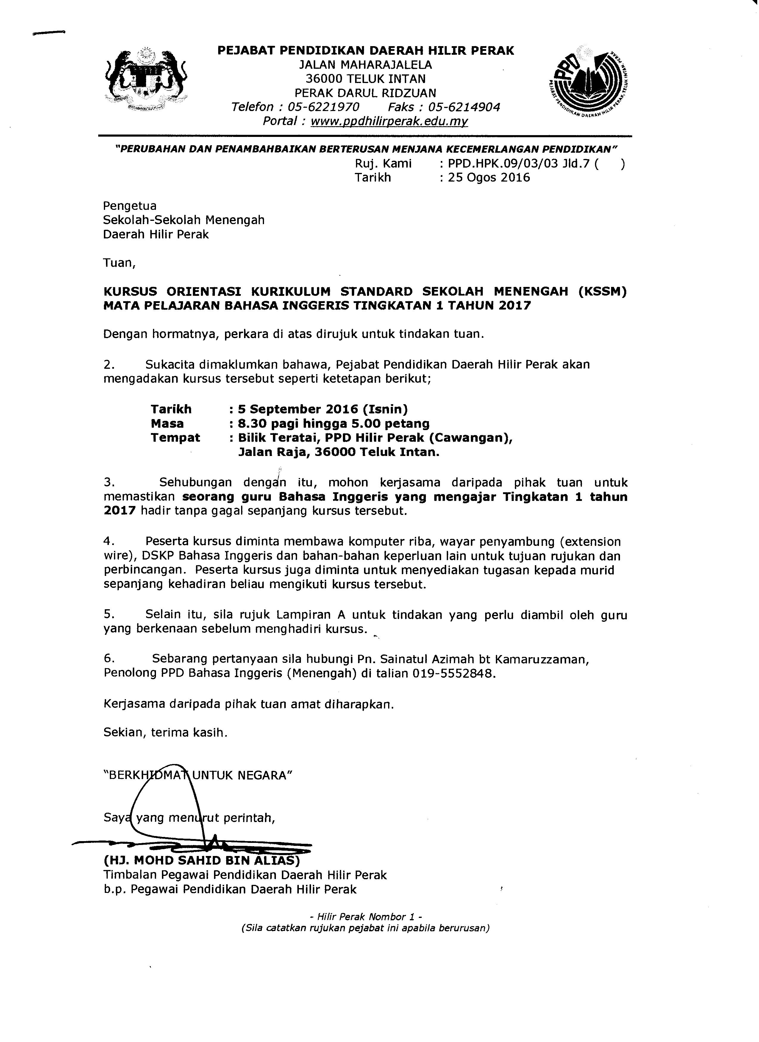 Download Dskp Bahasa Inggeris Tingkatan 3 Bernilai Portal Rasmi Ppd Hilir Perak Kursus Orientasi Dskp Kssm Bahasa Contoh Resume Cover Letter Curriculum Vitae Terbaik