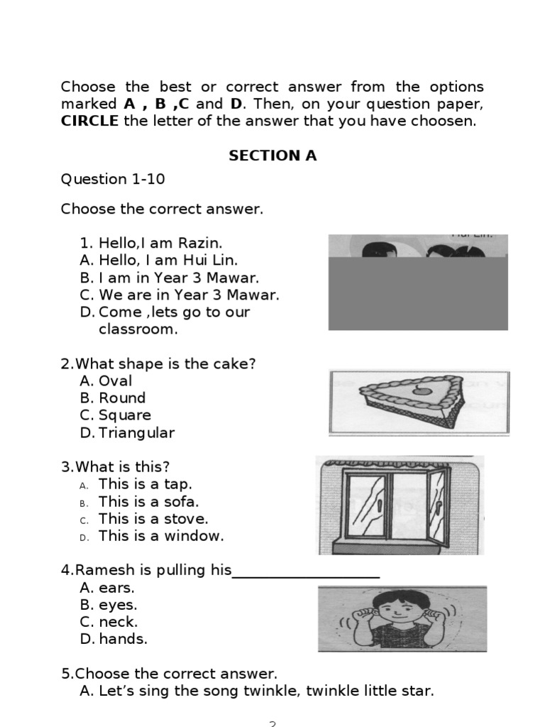 Latihan Bahasa Inggeris Tahun 4 Baik Contoh soalan Bahasa Inggeris Tahun 4 Kssr Brad Erva Doce Info Of Bermacam-macam Latihan Bahasa Inggeris Tahun 4 Yang Terbaik Khas Untuk Guru-guru Download!