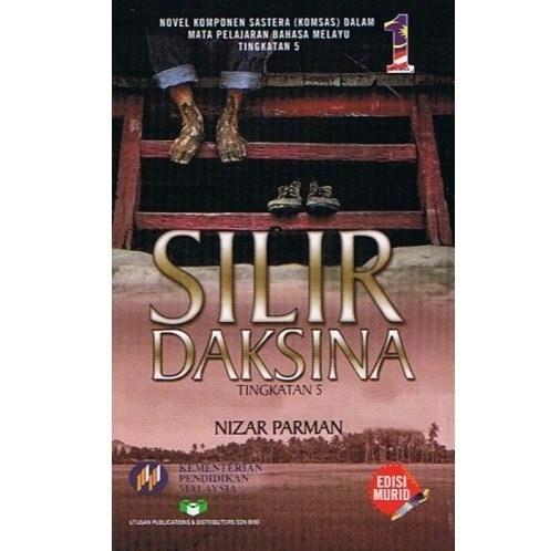 novel silir daksina k sinopsis tema persoalan watak nilai bumi gemilang