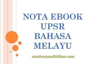 Nota Padat Bahasa Melayu Upsr Yang Sangat Berguna Nota Upsr Bahasa Melayu Sumber Pendidikan Of Muat Turun Nota Padat Bahasa Melayu Upsr Yang Menarik Untuk Para Ibubapa Download