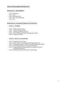 Nota Padat Sejarah Pt3 Yang Bernilai Nota Geografi Tingkatan 3