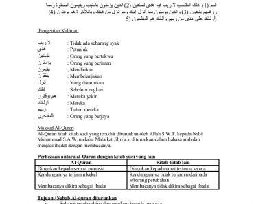 Nota Pendidikan islam Tingkatan 1 Yang Meletup 82419655 Nota Pendidikan islam Tingkatan 1