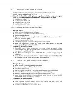 Nota Pendidikan islam Tingkatan 3 Yang Berguna Pendidikan islam Tingkatan 4