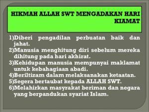 Nota Pendidikan islam Tingkatan 3 Yang Sangat Terhebat Hari Kiamat Satu Kebenaran