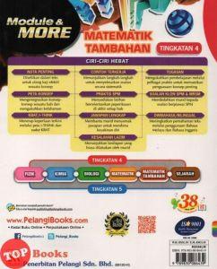 Soalan Peperiksaan Pertengahan Tahun Tasawwur islam Tingkatan 4 Terhebat Pelangi 18 Module More Matematik Tambahan Additional Mathematics