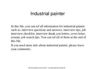 Soalan Temuduga Latihan Jururawat Bermanfaat Cover Letter for Painter Selo Yogawithjo Co