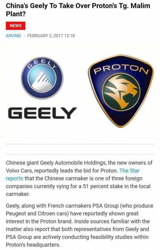 agak pelik apabila geng parti cap bunga raya meroyan di laman laman sosial menyalahkan kerajaan apabila proton holdings berhad ingin mendapatkan rakan