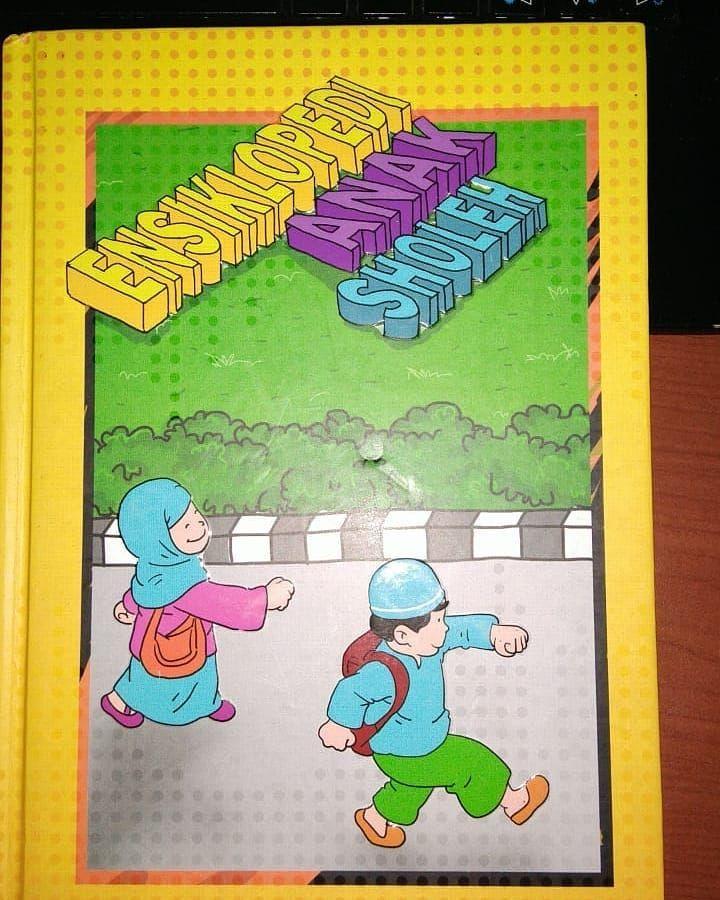 tak ketinggalan dalam mushaf ini dilengkapi juga audio book ensiklopedi anak sholeh sebuah buku