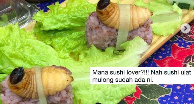 tidak semua orang menggemari makanan sebegini namun semestinya sushi mempunyai kelompok penggemarnya sendiri