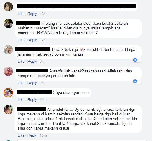 ada juga netizen yang tidak berpuas hati dengan wanita ini yang tidak terus melaporkan perkara ini kepada pihak sekolah
