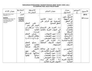 Download Rpt Bahasa Arab Tahun 5 Power Rpt Bahasa Arab Tahun 1 2015 Siap Tarikh Minggu