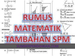 Download Rpt Matematik Tingkatan 4 Baik formula Rumus Matematik Tambahan Tingkatan 4 Dan 5 Sumber Pendidikan