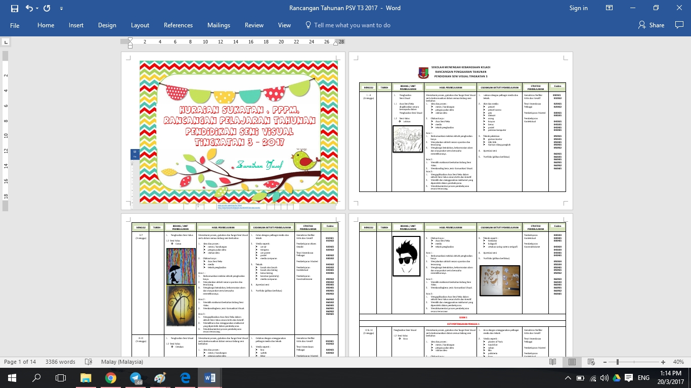 Download Rpt Pendidikan Seni Visual Tingkatan 1 Menarik It S My Life Rancangan Pengajaran Tahunan Psv Tingkatan 3 2017 Of Bermacam-macam Rpt Pendidikan Seni Visual Tingkatan 1 Yang Boleh Di Muat Turun Dengan Segera