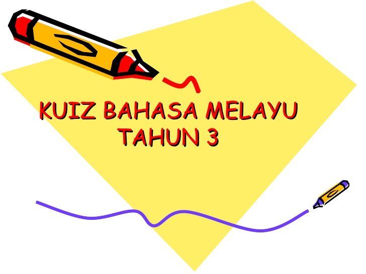 Kuiz Online Meletup Kuiz Bm Tahun 3