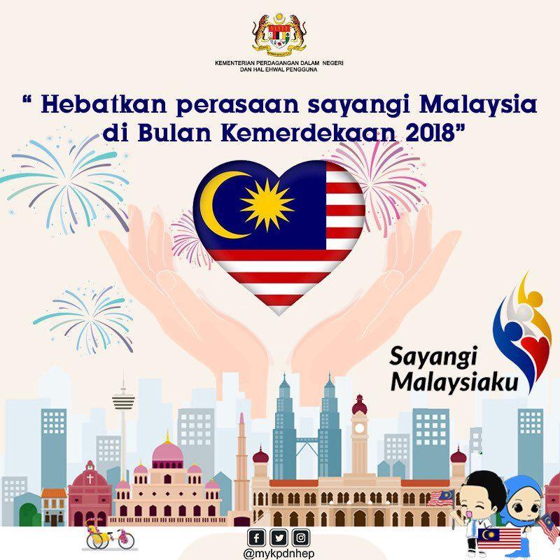 Lukisan Poster Kemerdekaan 2020 Malaysia Cikimm Com