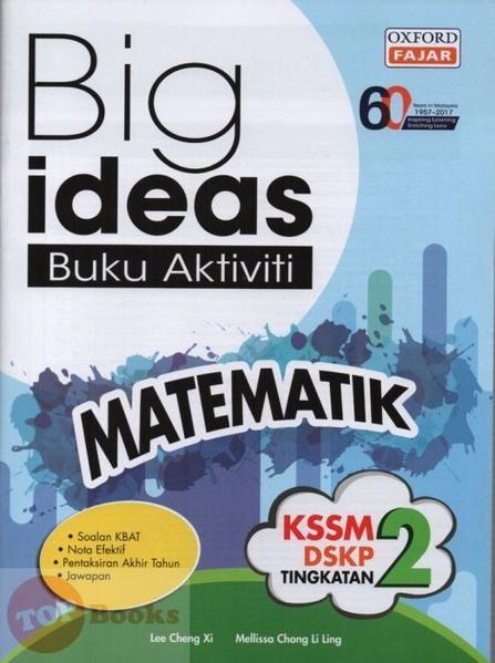 Download Dskp Bahasa Inggeris Tingkatan 2 Power Oxford Fajar 17 Big Ideas Buku Aktiviti Matematik Tingkatan 2