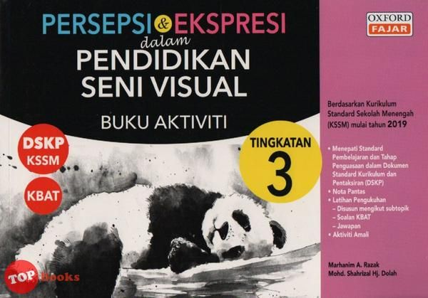 product image persepsi ekspresi dalam pendidikan seni visual buku aktiviti tingkatan