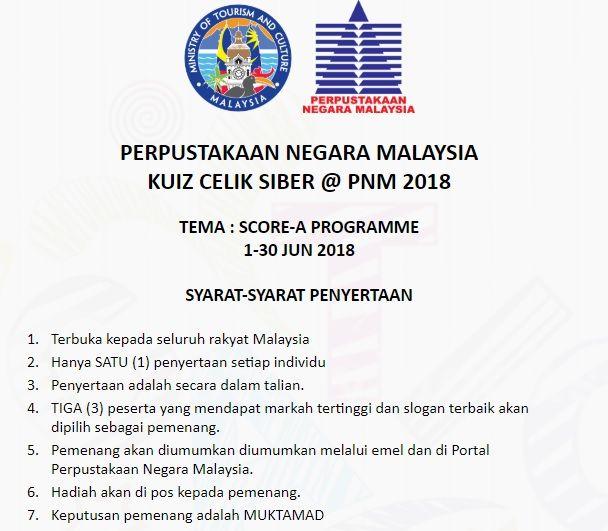 cyber literate quiz pnm june 2018 theme score a programme online database
