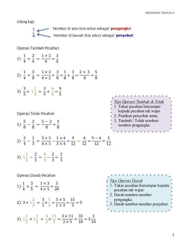 soalan latihan matematik tahun 4 pecahan penting latihan pecahan tahun 6 operasi darab bahagi of dapatkan