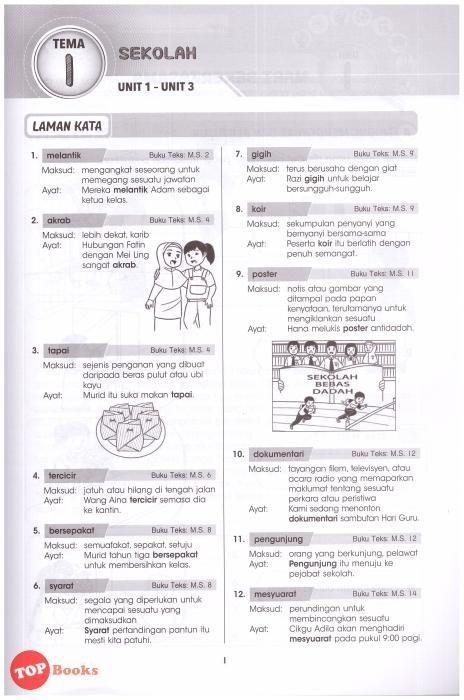 latihan bahasa inggeris tahun 6 terhebat sasbadi 18 super skill modul aktiviti a aspirasi bahasa melayu