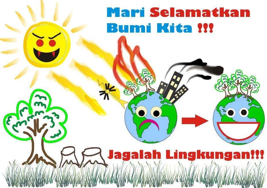 Contoh Gambar Poster Tentang Lingkungan Alam