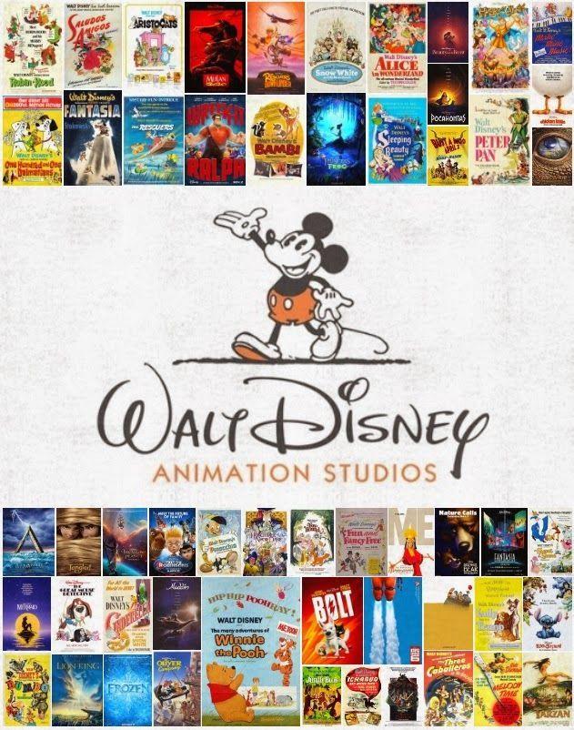 Animation Poster Bermanfaat Disney Avenue All 54 Walt Disney Animation Movie Posters Disney