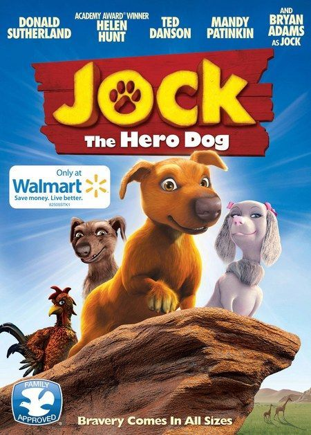 jock the hero dog dvd poster this enchanting animated family adventure will hit vod on june 19th before arriving on dvd july 24th