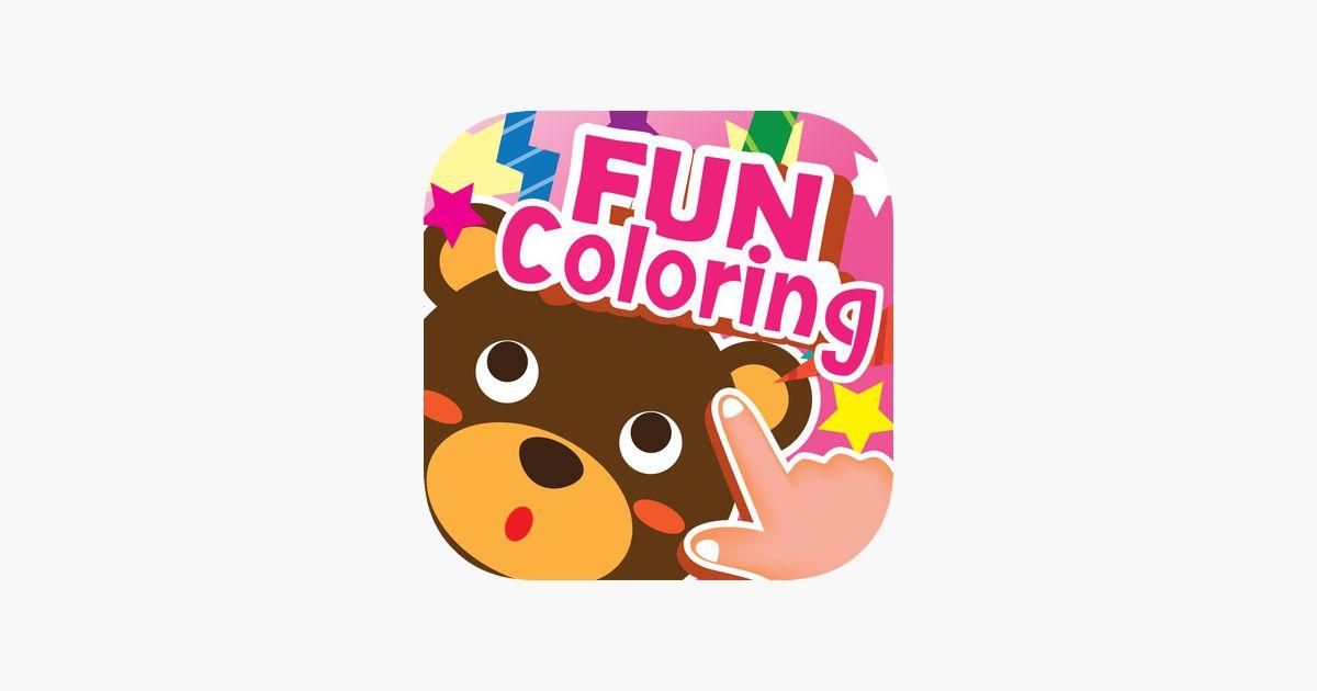 kartun mewarna cabutan buku seni permainan untuk kanak kanak anjing kucing bayi putri kartun naga kereta mandalas di app store