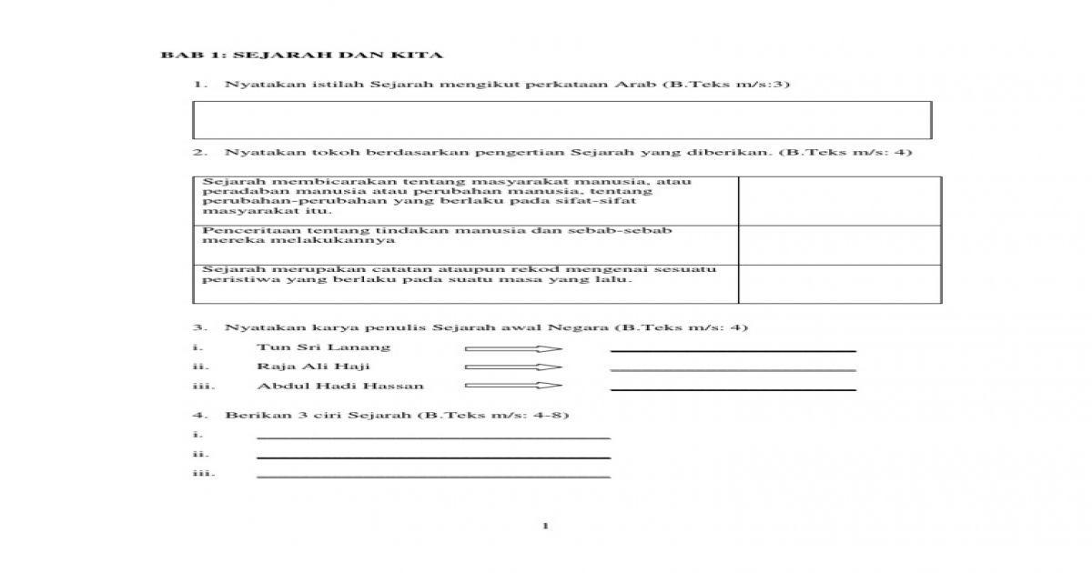 teka silang kata sejarah tingkatan 3 bab 1 hebat soalan latihan sejarah tingkatan 1 pdf document