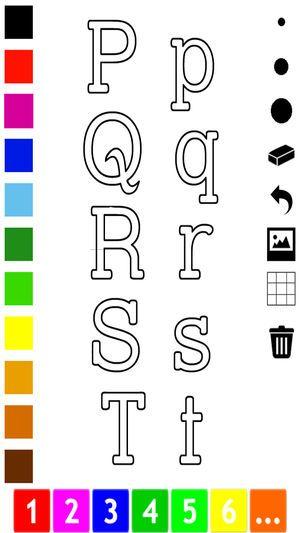 Gambar Mewarna Kanak-kanak Baik Abc Buku Mewarna Belajar Menulis Abjad Dalam Bahasa Inggeris Di