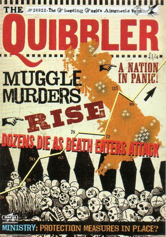 hmmm the daily quibbler for their schedule poudlard poster de harry potter