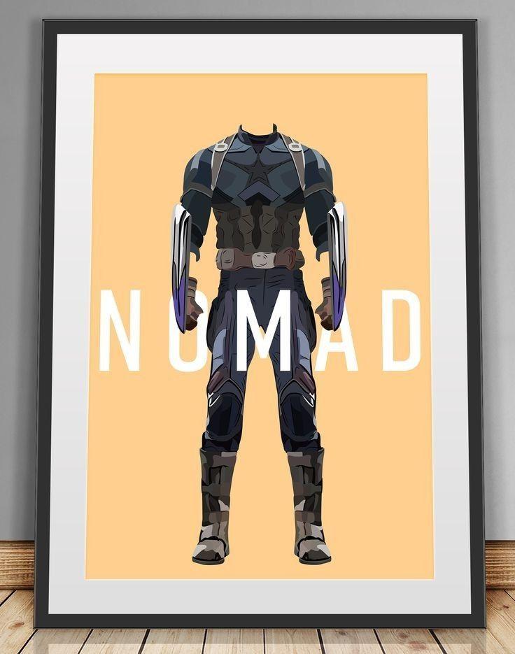 nomad captain america poster captain america cosplay avengers poster marvel avengers marvel