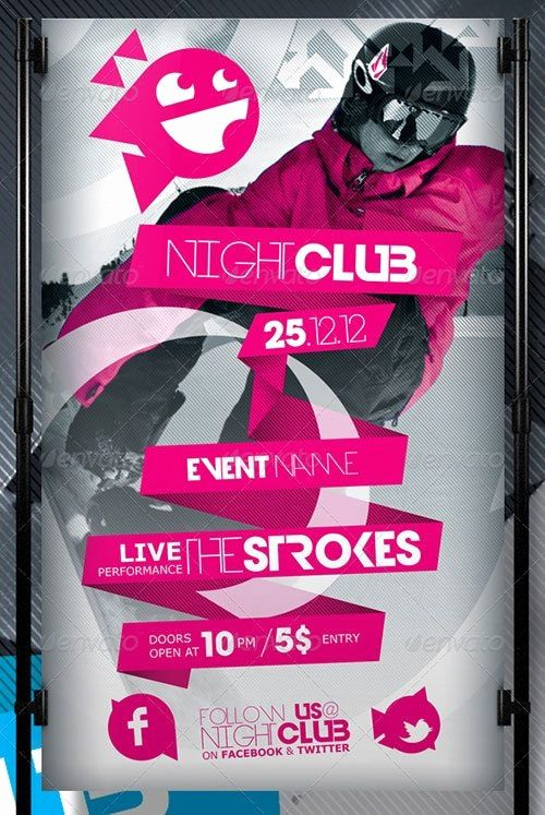 free nightclub flyer template fresh elegant free event flyer templates poster templates 0d wallpapers 46