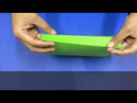 cara membuat beg kertas