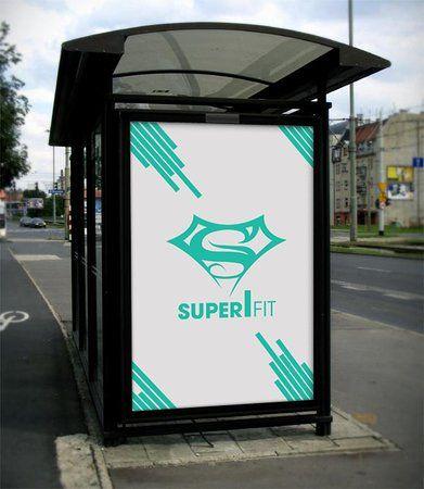 superfit gym mockup