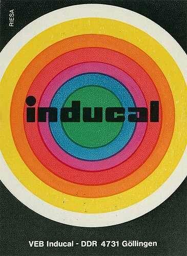 german matchbook design late 1960s