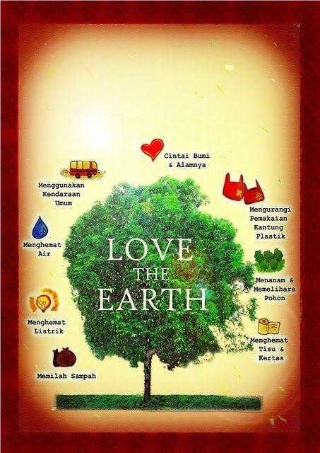 poster sayangi alam sekitar bermanfaat contoh gambar poster tentang pelestarian lingkungan