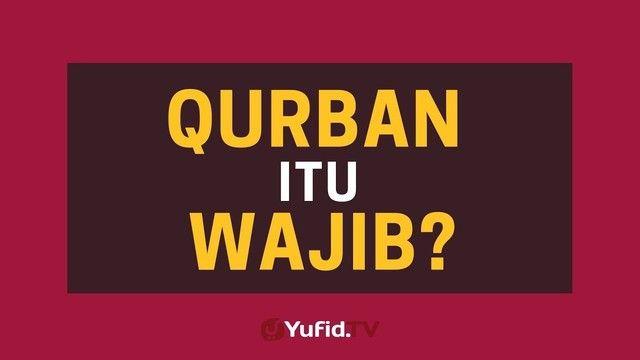 Poster Dakwah Penting Apakah Qurban Itu Wajib Poster Dakwah Yufid Tv Vidio Com