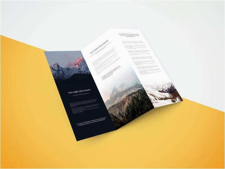 poster templates 0d wallpapers 46 awesome brochure fold design a tri fold brochure android brochures