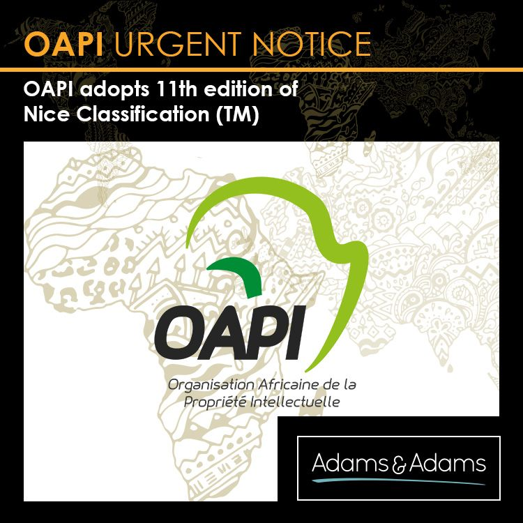 trademark vs copyright oapi adopts 11th edition of the nice classification for the