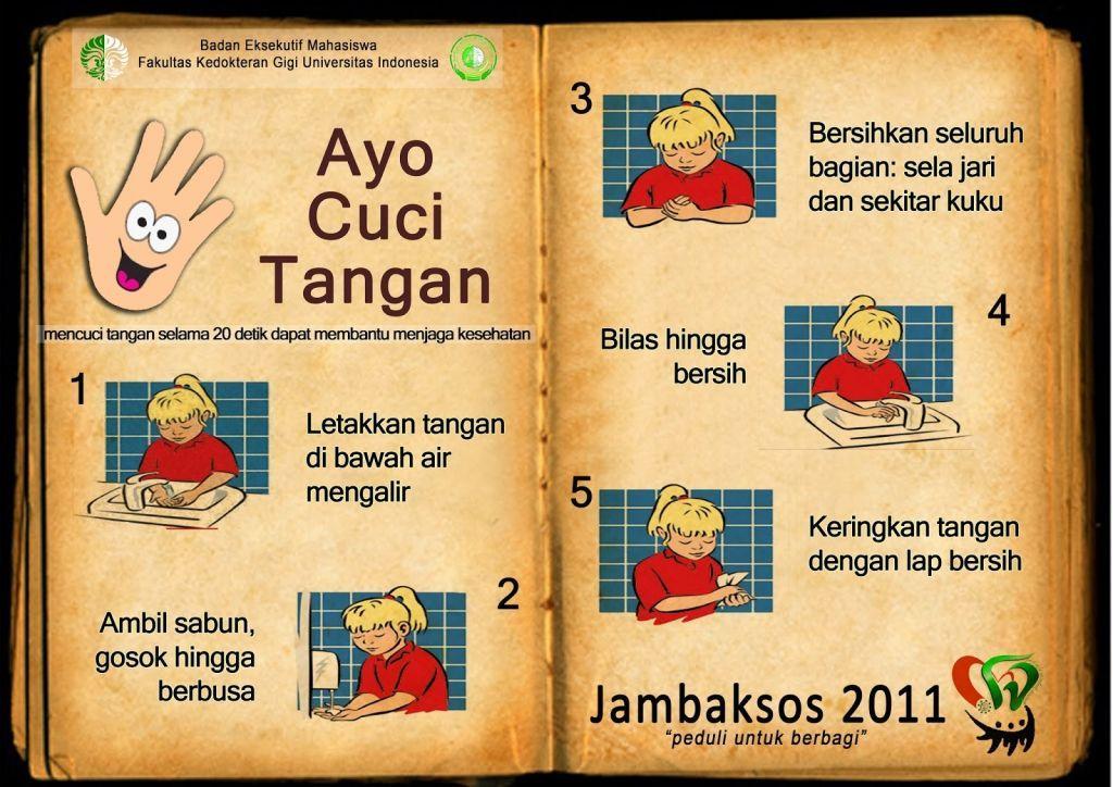 gambar kartun cuci tangan sebelum makan gambar poster tentang kesehatan