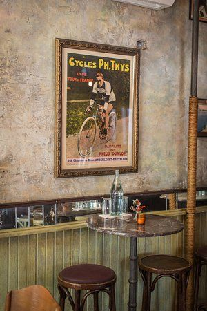 bar velo vintage cycling poster