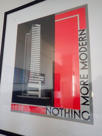 loews philadelphia hotel promotional poster from when the building opened