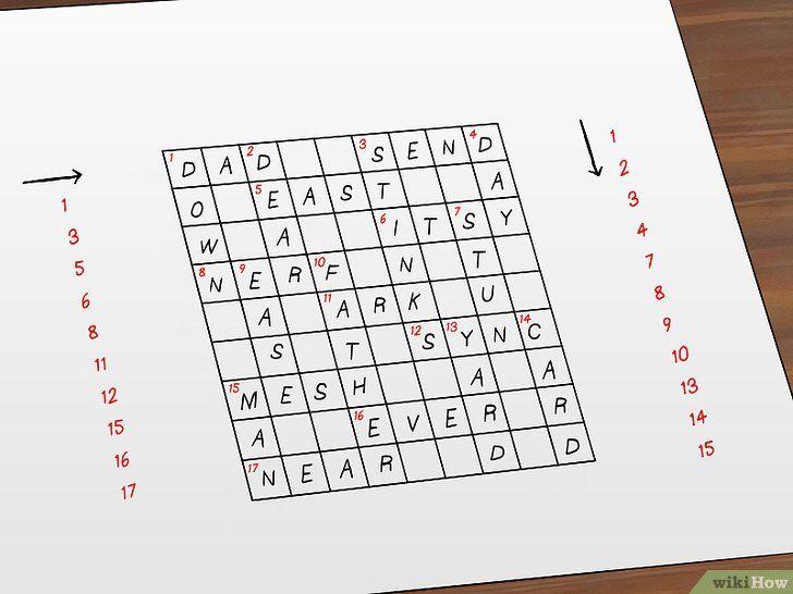 gambar berjudul make crossword puzzles step 9