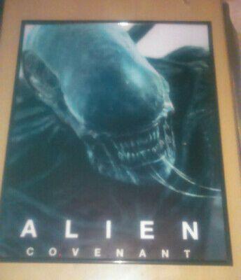alien covenant poster framed vibrant premium glossy movie poster a2 size