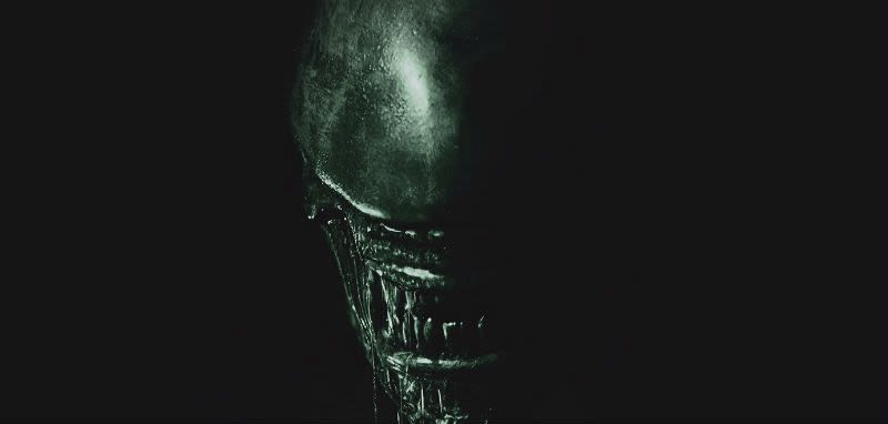 illustration for article titled the first alien covenant poster is simple and scary