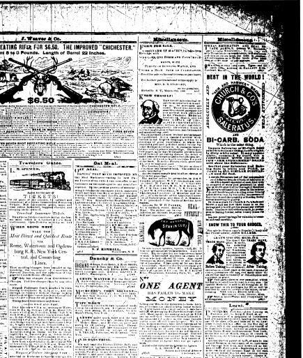 Arti Poster Penting the Gouverneur Herald Gouverneur N Y 1873 1880 April 01 1880