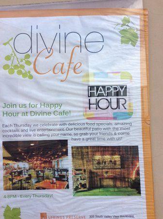 divine cafe poster