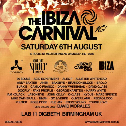 cover image of the ibiza carnival podcast
