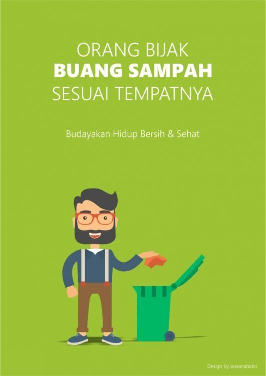 Contoh Slogan Gambar Poster Pendidikan Yang Mudah Digambar ...